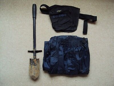 Metal Detecting Digging Tool,Finds Pouch & Waterproof Over Trousers