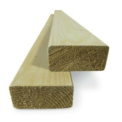 4 X 2 Timber (47 X 100Mm) C16 Sawn Treated Timber - Multi Lengths & Quantities