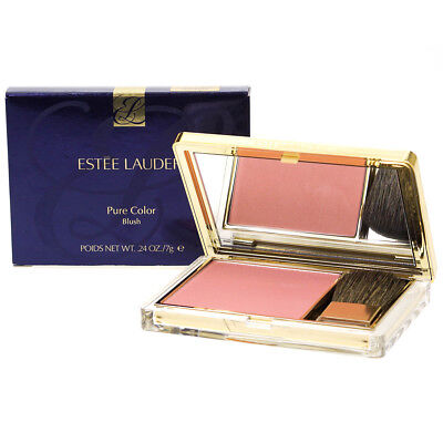 Estee Lauder Pure Color Blush Shimmer Blusher 08 Peach Passion Damaged Box