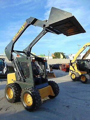 2006 New Holland Ls-160 Skid Wheel Loader - New Wheels And Tires - Good Hours