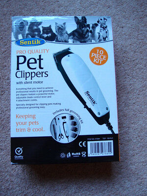 sentik pet clippers
