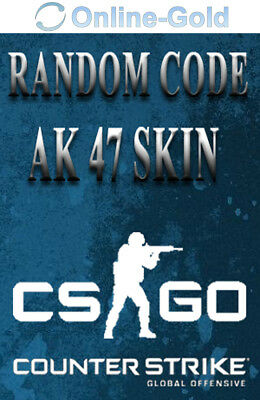 CSGO Random AK 47 Skin - Counter Strike Global Offensive - PC Steam SKIN CODE