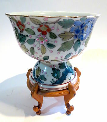 STEM Cup JAPANESE Porcelain ANTIQUE