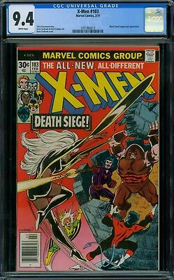 X-Men 103 CGC 9.4 - White Pages
