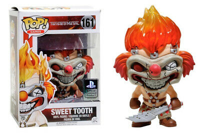 Pop! Games: Twisted Metal - Sweet Tooth Play Station FUNKO #161