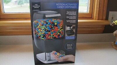 Sharper Image Motion Activated Candy Dispenser Black Brand New