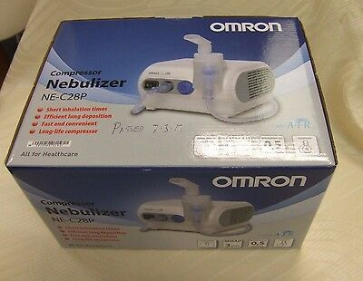 Omron comp-air nebuliser / nebulizer NE-C28P ~Mint Condition in Box~