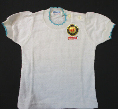"Vintage Pullover Baby Shirt by ""ShirTees"" Size 12mos New w/Tags NOS"