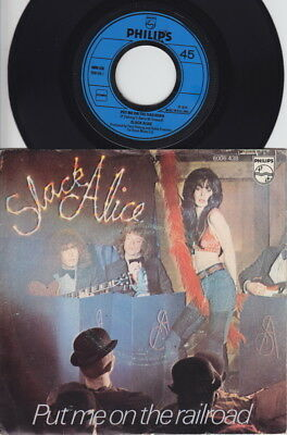 SLACK ALICE * 1974 Heavy GLAM Rock Girl 45 * Listen!