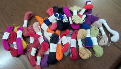 30 Skeins Appletons Tapestry / Needlepoint Wool Yarn Assorted Colours