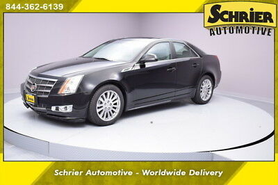 2010 Cadillac CTS  10 Cadillac CTS4 AWD Black Leather Heated Front Seats Bose Audio