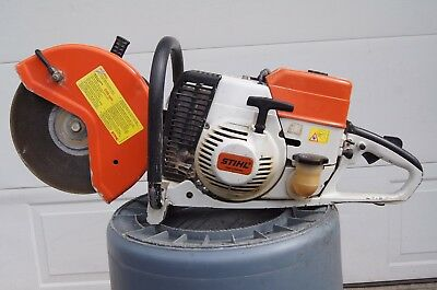 Stihl TS360 Concrete Cut Off Gas Powered Demo Saw