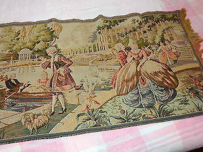 Vintage/Antique Tapestry Colonial Period Dress Table Runner