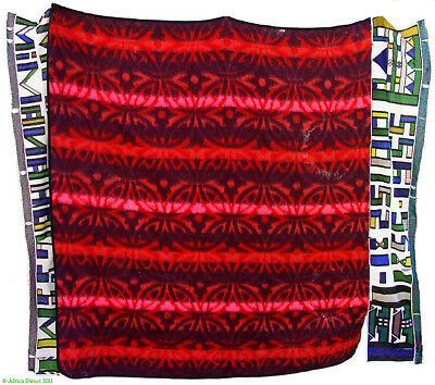 Ndebele Beaded Traditional Blanket South African Art