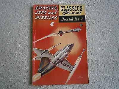 Classics Illustrated  159A  1960  Rockets Jets Missiles - Vg