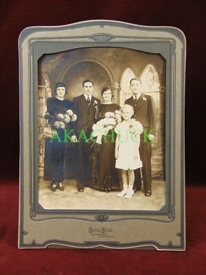 Antique Art Deco Family Photo 1930s Allentown PA Young & Fashionable