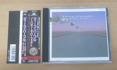 DEEP PURPLE: Nobody's perfect CD Japan w/ OBI Child in time Highway star Live