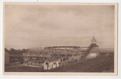 Figure 8 Coaster,  Bristol International Exhibition Postcard B743