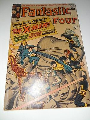 Fantastic Four #28 Marvel Comics July 1964!