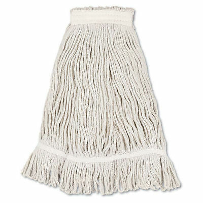 Boardwalk Mop Head, Loop Web/tailband, Value Standard, Cotton, No. 32, White, 12