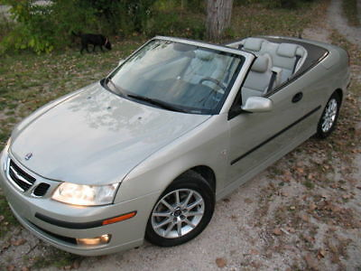 2005 Saab 9-3 Arc Convertible 2-Door LQQK! Only 64k! Loaded Nav IceColdAC Serviced Tires Brakes Battery Springs NR!