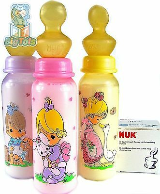 BIG TOTS Adult size  Precious Moments baby girls NUK  bottle