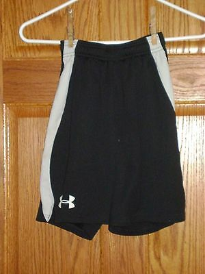 YSM Youth Black UNDER ARMOUR Polyester Athletic Shorts