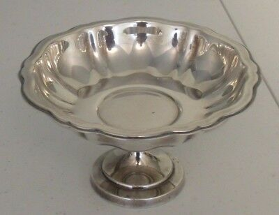Silverplated footed Candy Dish, Oneida