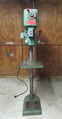 Vintage 1965 Powermatic 1150  Variable Speed Drill Press