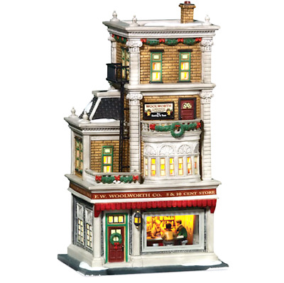 Dept 56 Christmas In The City - Woolworth's 59249 Very Rare Hard To Find Mint