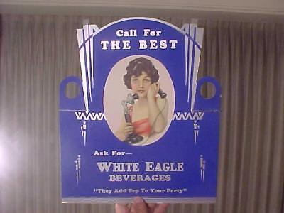White Eagle Beverages Bottle Topper Display