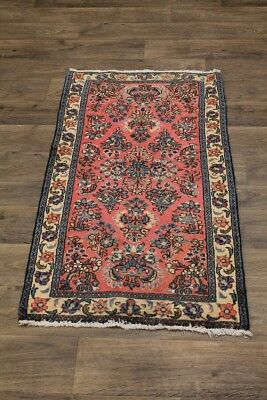 Fascinating Small Size Hand Knotted Sarough Persian Rug Oriental Area Carpet 2X4