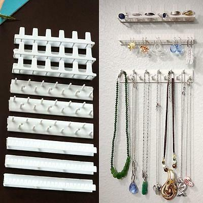 Jewelry Wall Mount Organizer Hanging Earring Holder Necklace Display Rack NEW MS