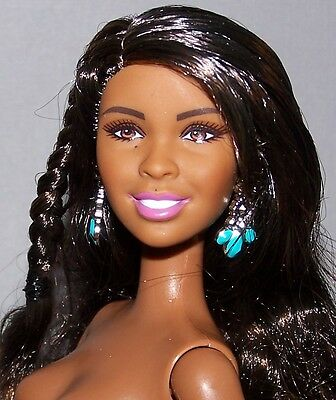 Nude Barbie Doll African American Fashionista Fifth Harmony Normani
