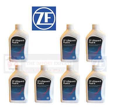 7 LITERS OEM ZF Lifeguard 8 Automatic Transmission Fluid S671090312