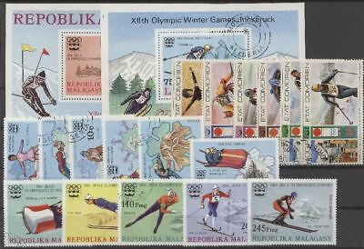 Olympiade 1976, Olympic Games, Sport - LOT gestempelt used