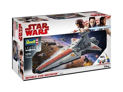 Revell 06053 - Star Wars - 1/2700 Republic Star Destroyer - Komplettset - Neu