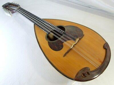 1980s SUZUKI Mandolin M-30 Vintage round back with case. good condition