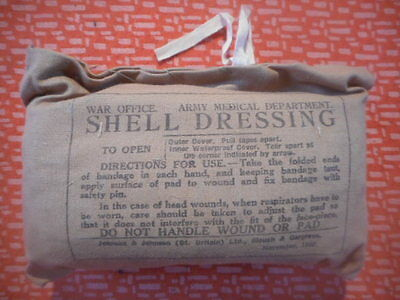 Great Britain Army : 1940 Wwii Shell Dressing 1940 Wwii Militaria