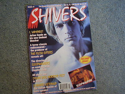 SHIVERS #2.The Flesh Eaters-classic 1960s horror. I,Vampire