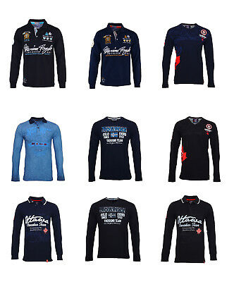 Geographical Norway & Canadian Peak by Geo.Norway Langarm Shirts & Polos