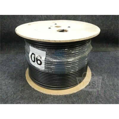 Vextra Technologies 0906012020152 Coaxial Cable, 1000ft Spool, 14AWG, Black*