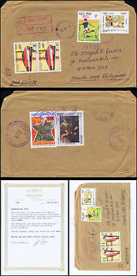 Football World Cup, Italy (II) (A1152) -OVERPRINT BY HAND COVER(I)-
