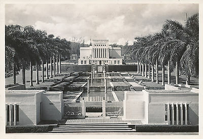 WWII 1943 Mormon Temple at Laie, Hawaii 5 x 7 Photo