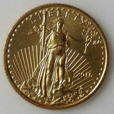 2016 $5 1/10 oz Gold American Eagle