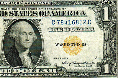 $1 1935A  (( North Africa )) Silver Certificate ** MORE CURRENCY FOR SALE**