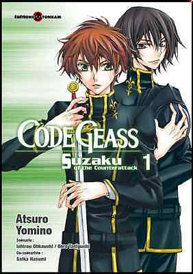 Lot Mangas Code Geas Suzaku of the Counterattack tomes 1 à 2 Tonkam Collectif VF