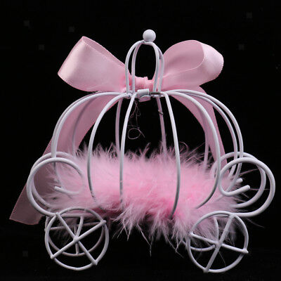 Princess Pink Carriage Candy Box for Christams Party Sweets