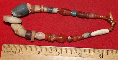 Small Strand of Neolithic Stone Beads #3
