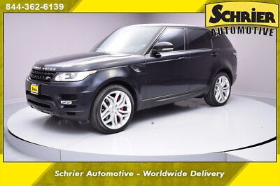 2014 Land Rover Range Rover Sport  14 Autobiography Mariana Black 4WD Bluetooth Power Gate Back Up Cam